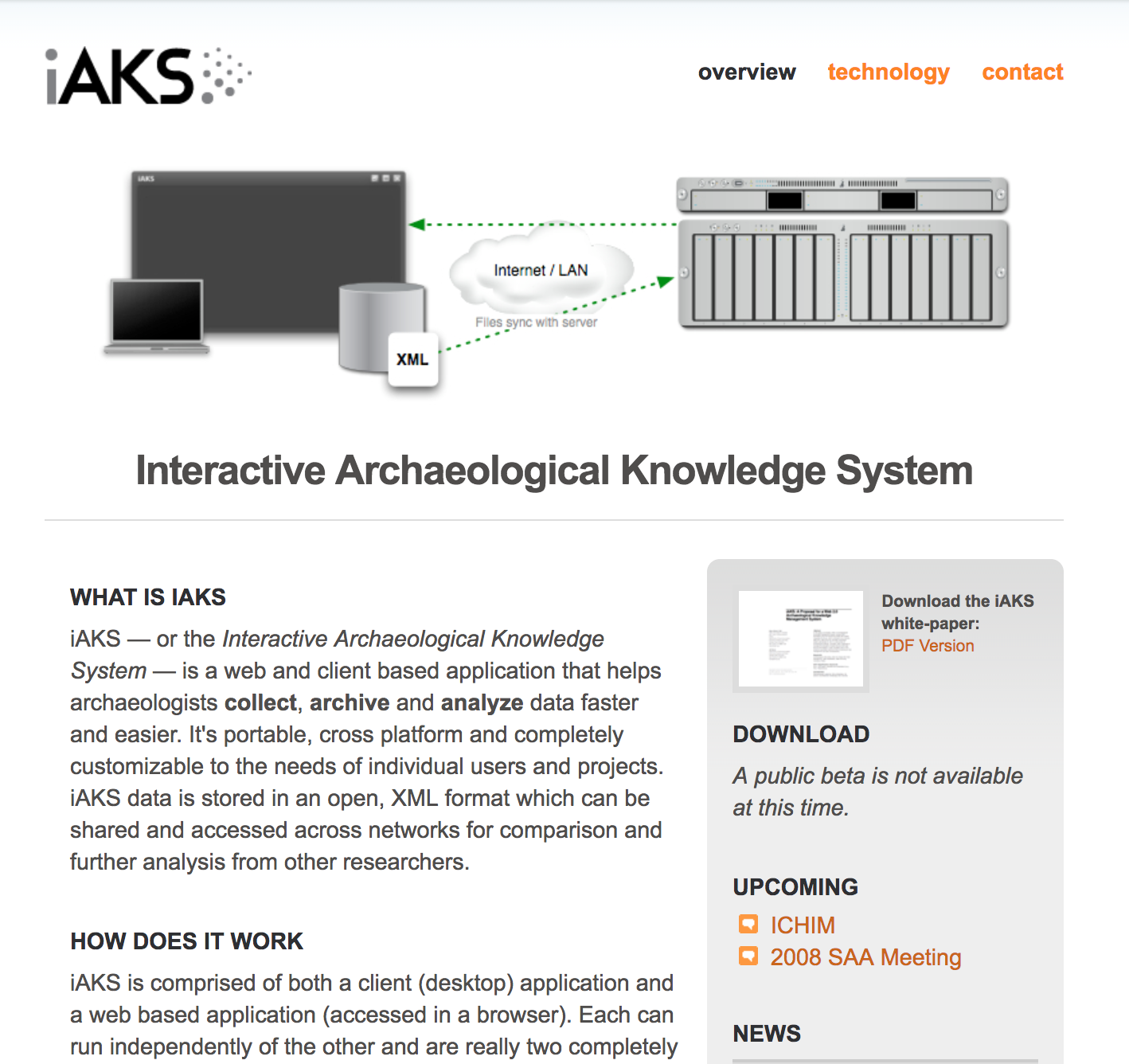 iAKS: Interactive Archaeological Knowledge System