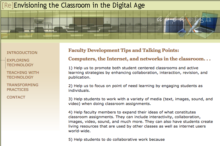 Educonsult: [Re]envisioning the Classroom in the Digital Age