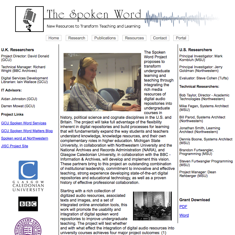 Spoken Word: New Resources to Transform Teaching and Learning